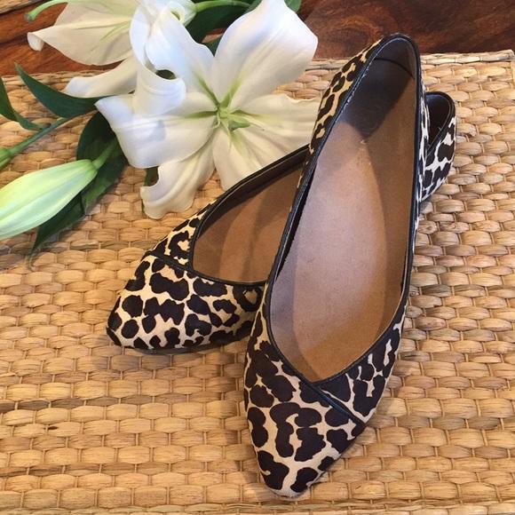 58d6335da6e6 Vionic Caballo Animal Leopard print Flats NWOT. M 5a9f1af436b9de4cafd93118